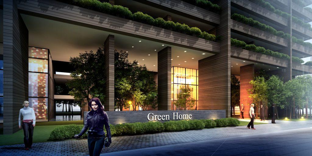 Chung cư Green home - Phạm Hùng - Hà Nội.