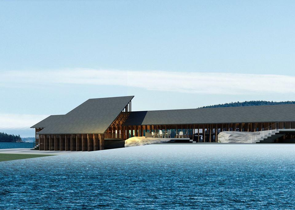 Nhà bên hồ Thái Nguyên